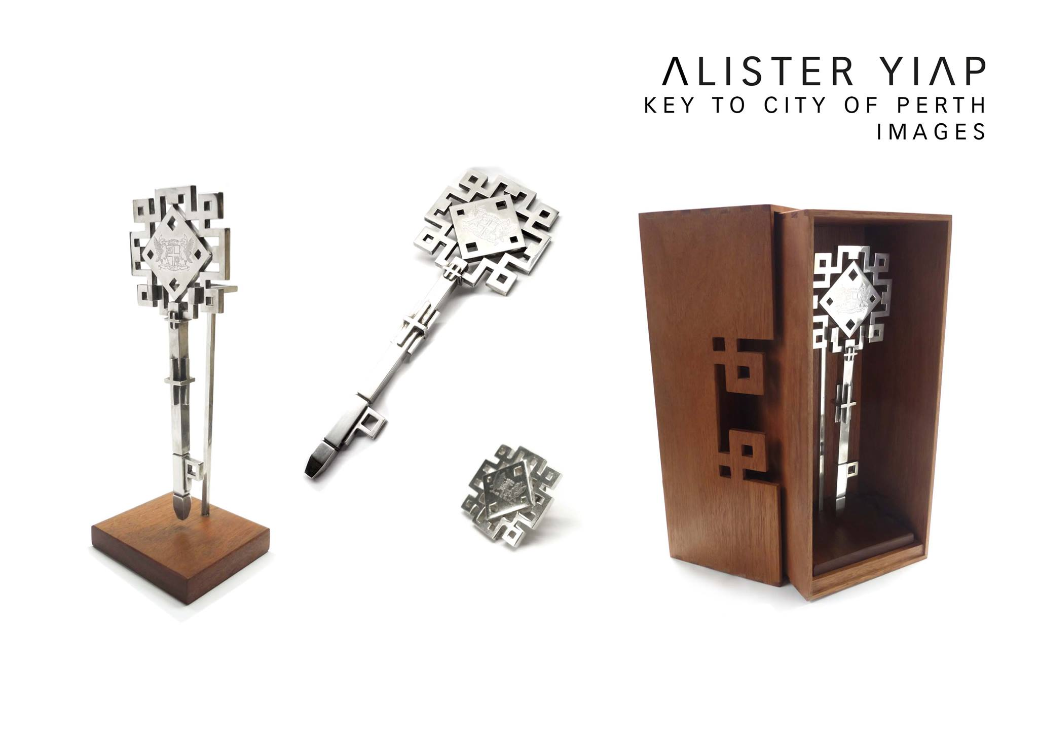 Alister Yiap Design Artist_Creative Portfolio_Key to the City of Perth 01