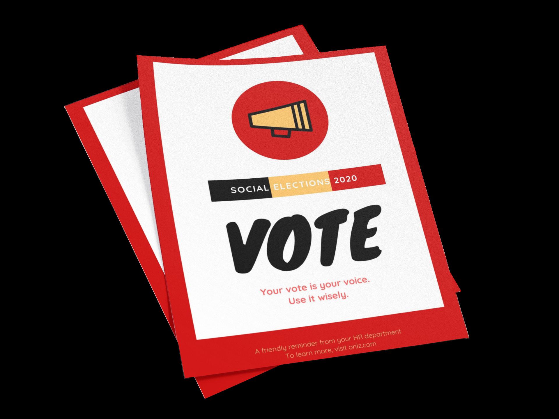 social elections vote Belgium