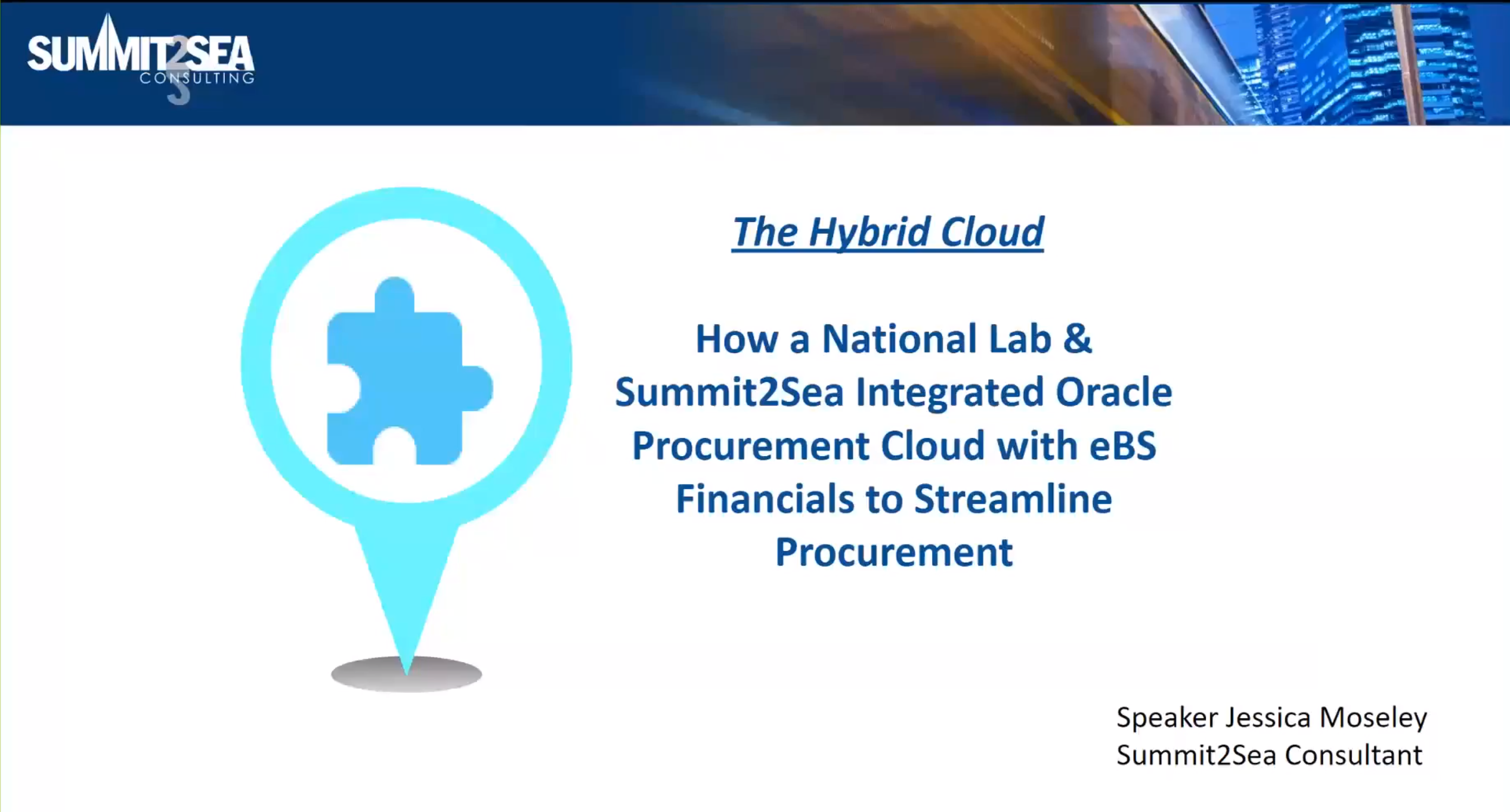 Hybrid Cloud, Oracle Procurement, Financial Consulting, ERP