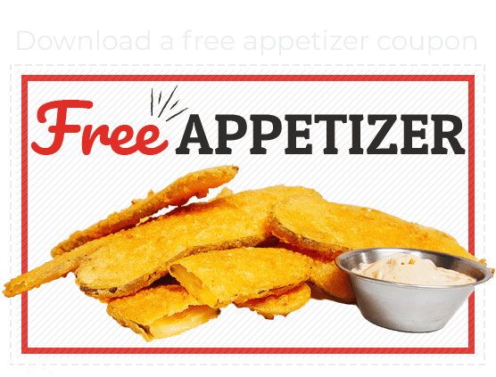 Free Appetizer Coupon