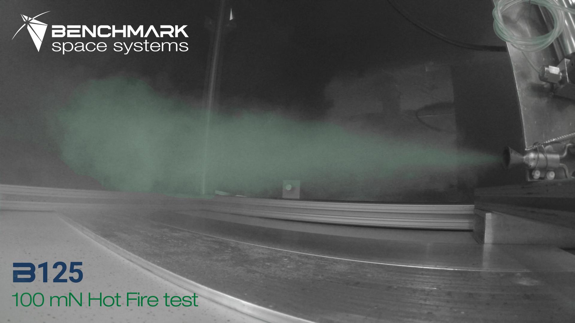 B125 Hot Fire Testing