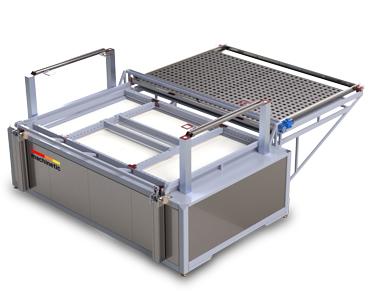 Simple vacuum forming machine SMP - series