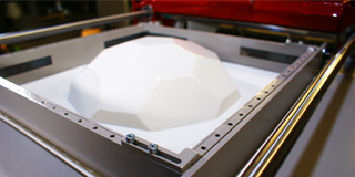 SMARTFORM 450 review, desktop vacuum thermoforming machine