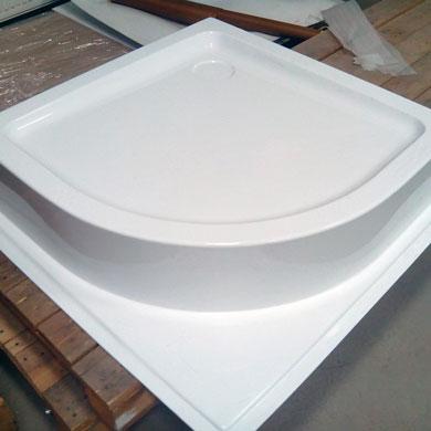 Vacuum forming Acrylic plastic