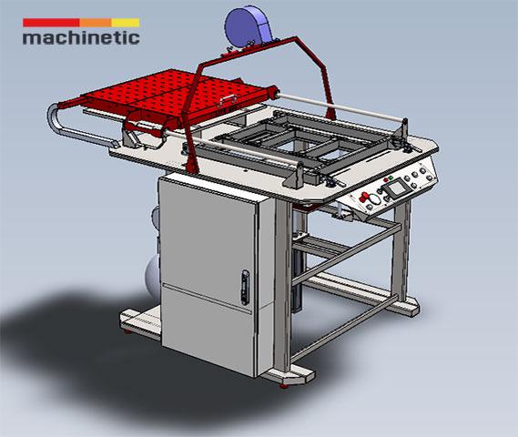 Vacuum forming machine