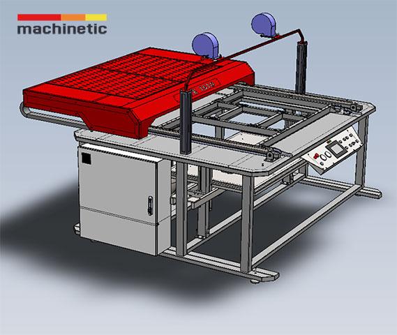 Manual vacuum thermoforming machine LITE SERIES