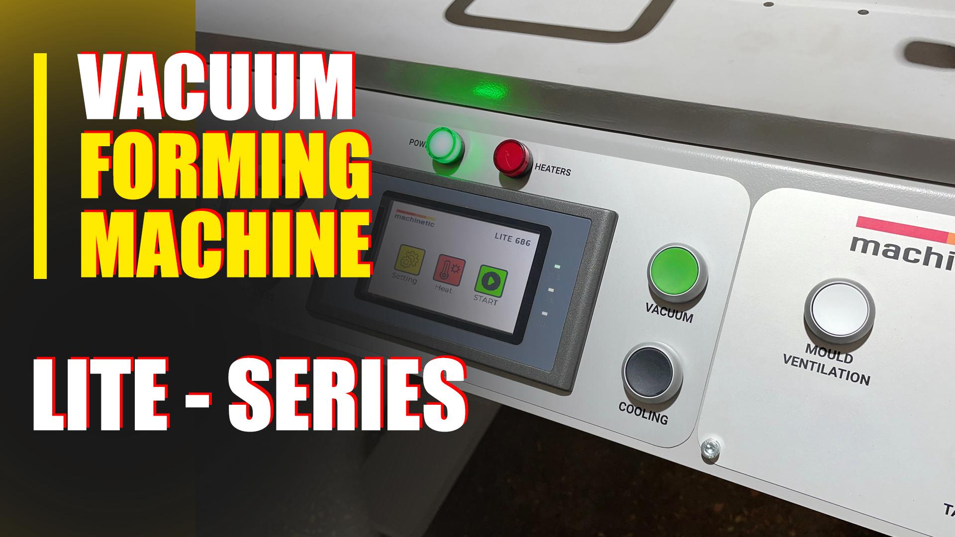 Видео ручной вакуум формовочный станок LITE 686