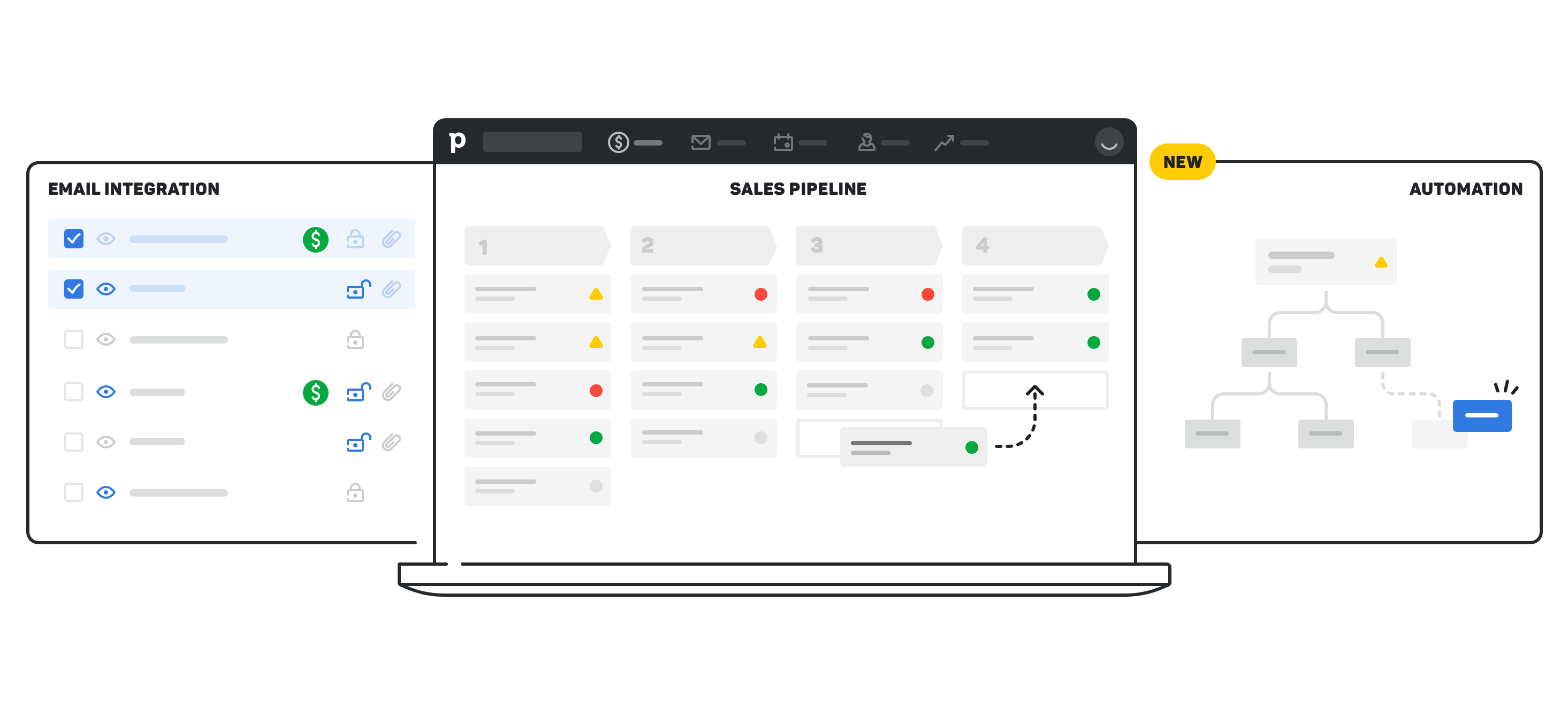 Image from Pipedrive regarding their CRM