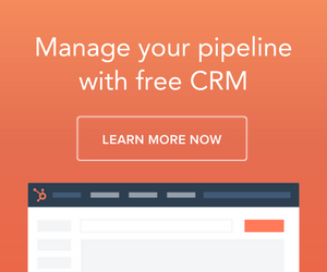 Get on top of your sales pipeline with Hubspot