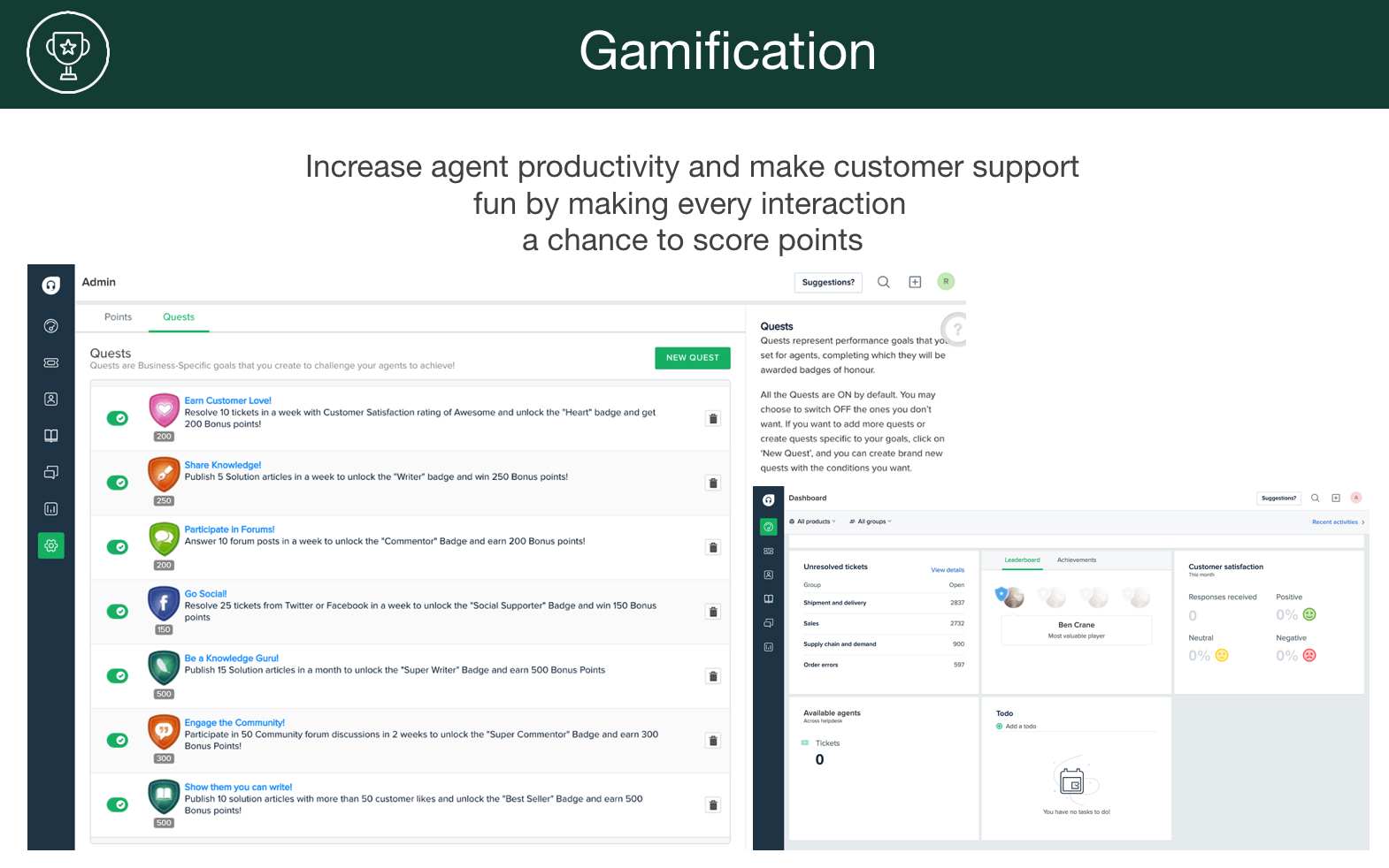 Increase your customer satisfaction with the help of gamifcation
