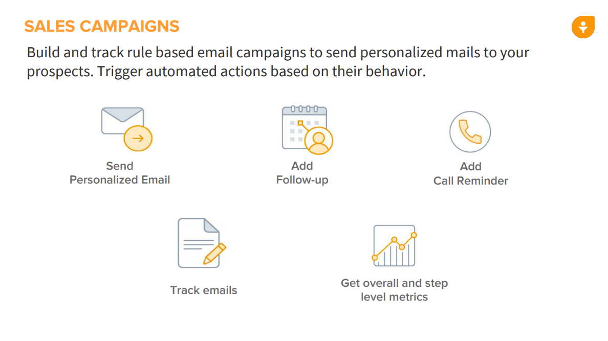 Setup a sales campaign based on rules to increase conversion using automated actions