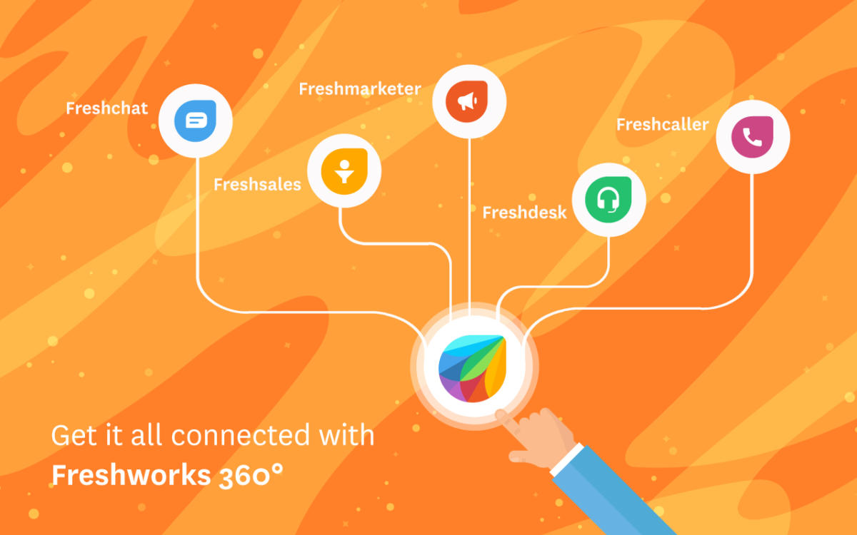 Get connected with freshworks 360