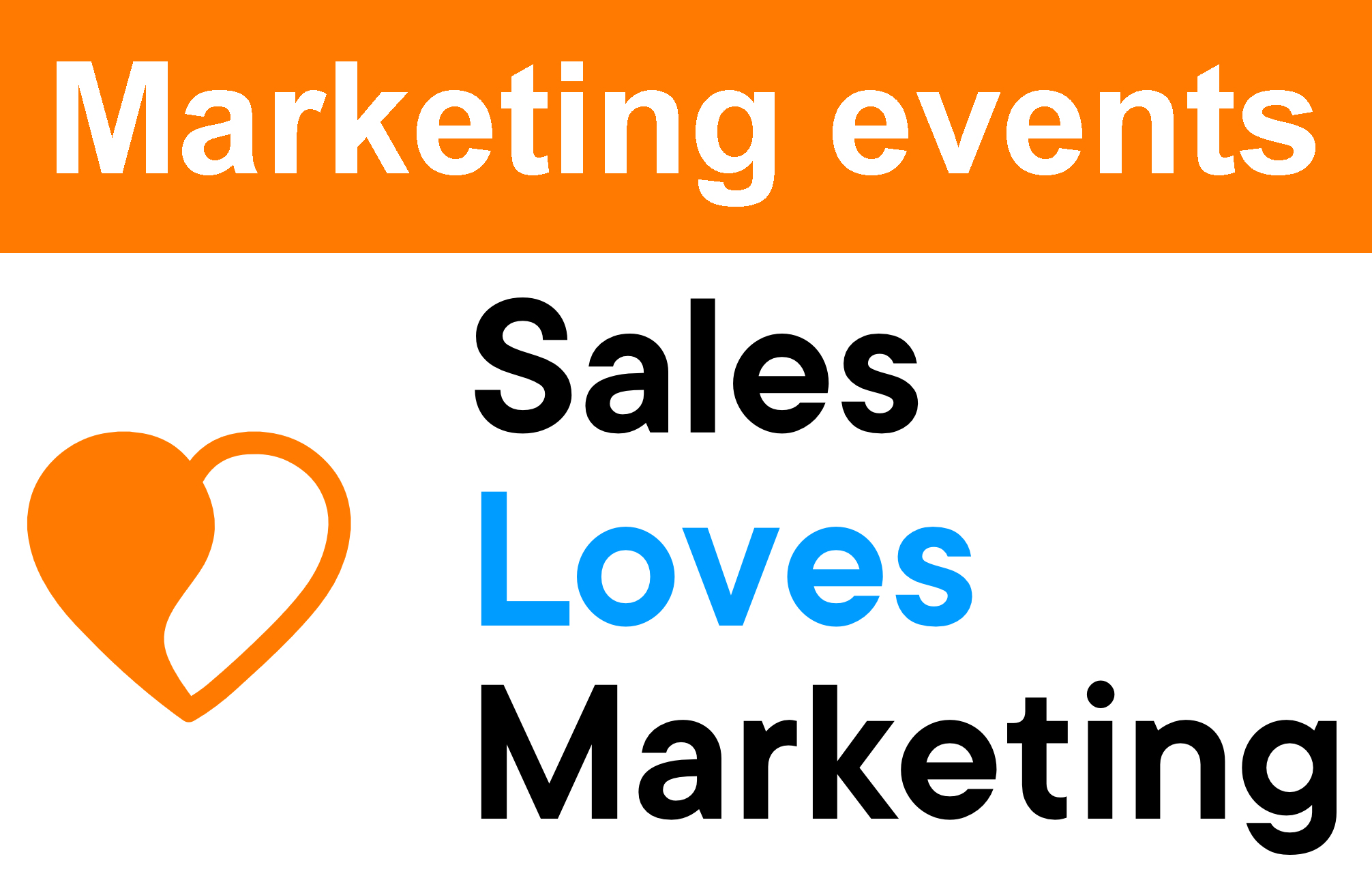 See all the big marketing events in one overview