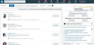 Create automations within your linkedin