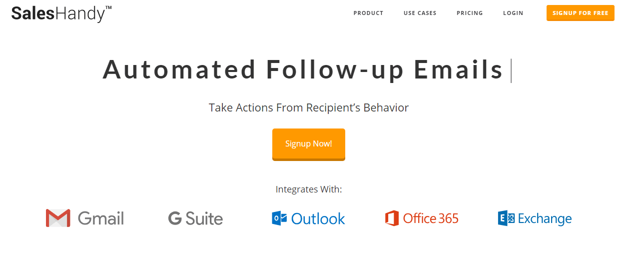Automate your email outreach and follow ups with SalesHandy