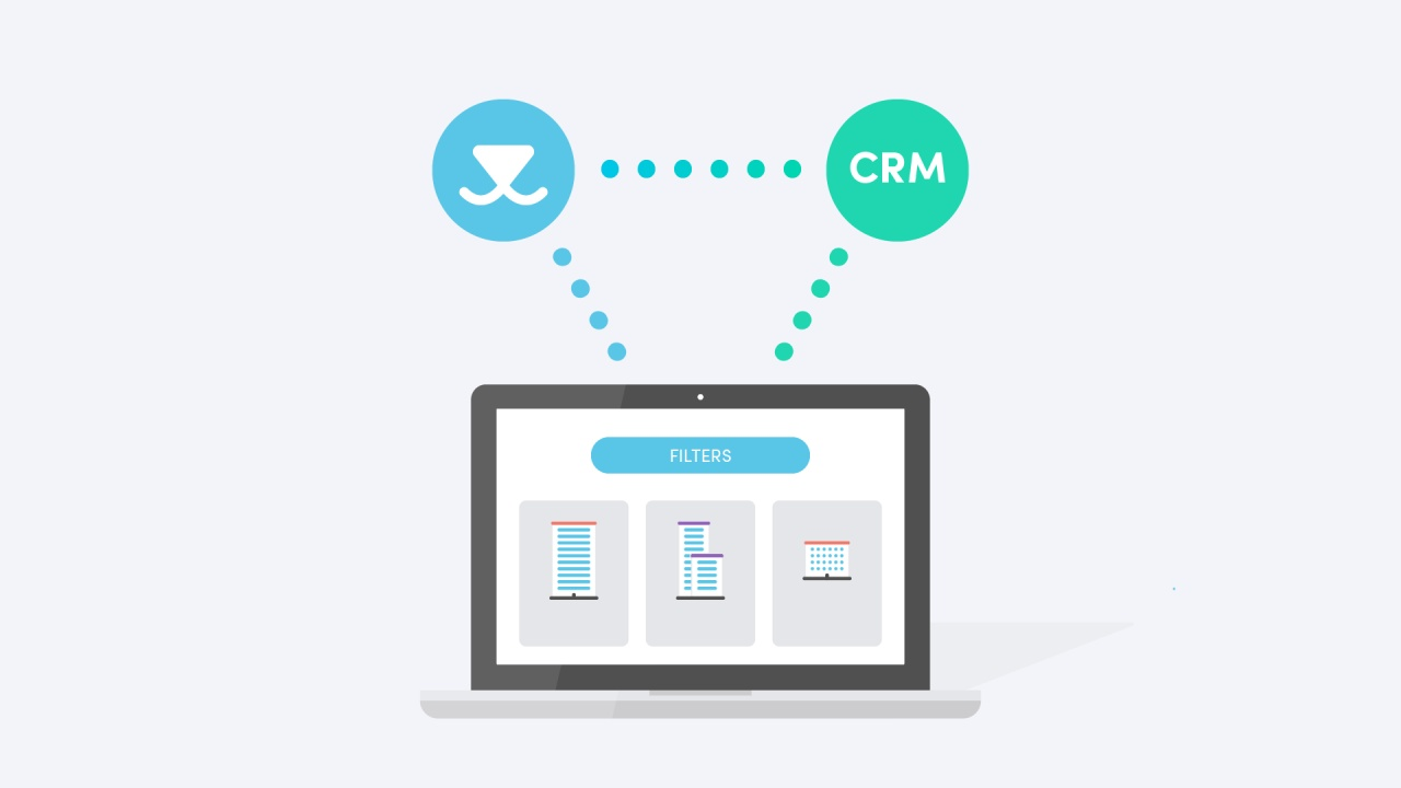 Connect Vainu with your CRM system to feed the leads automatically to your sales people