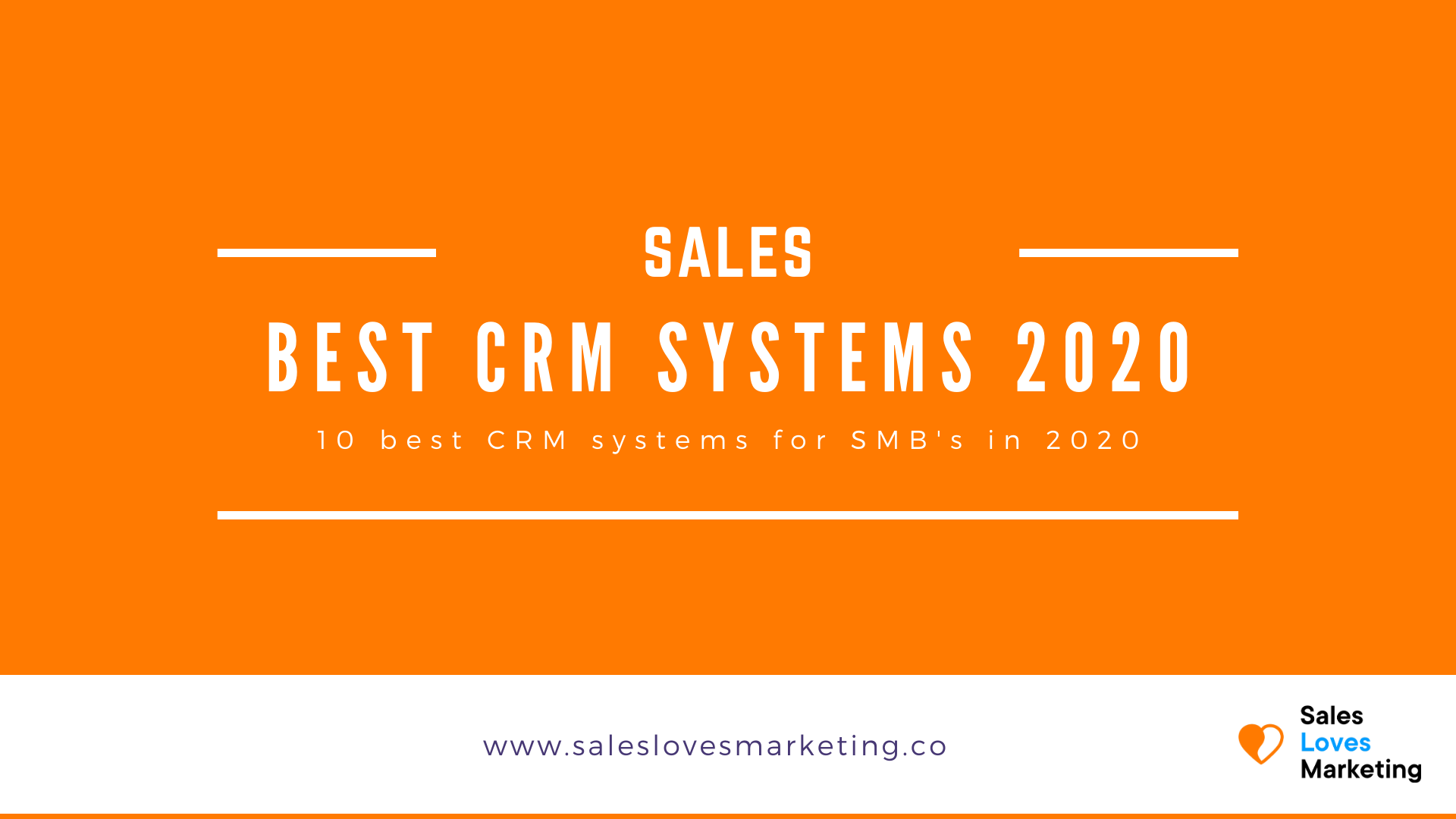 What are the best CRM systems for SMB