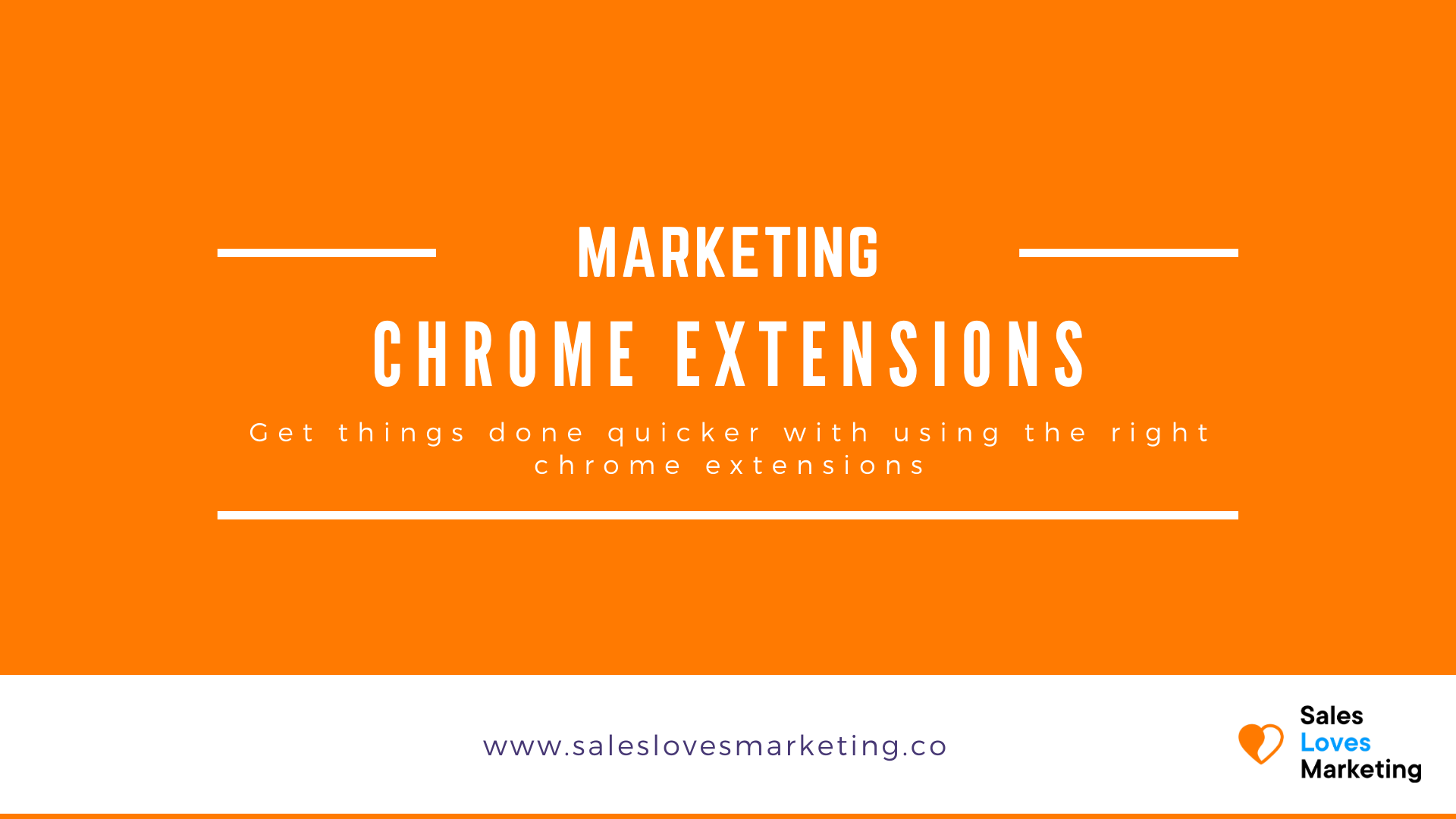 Essential chrome extensions in sales and or marketing