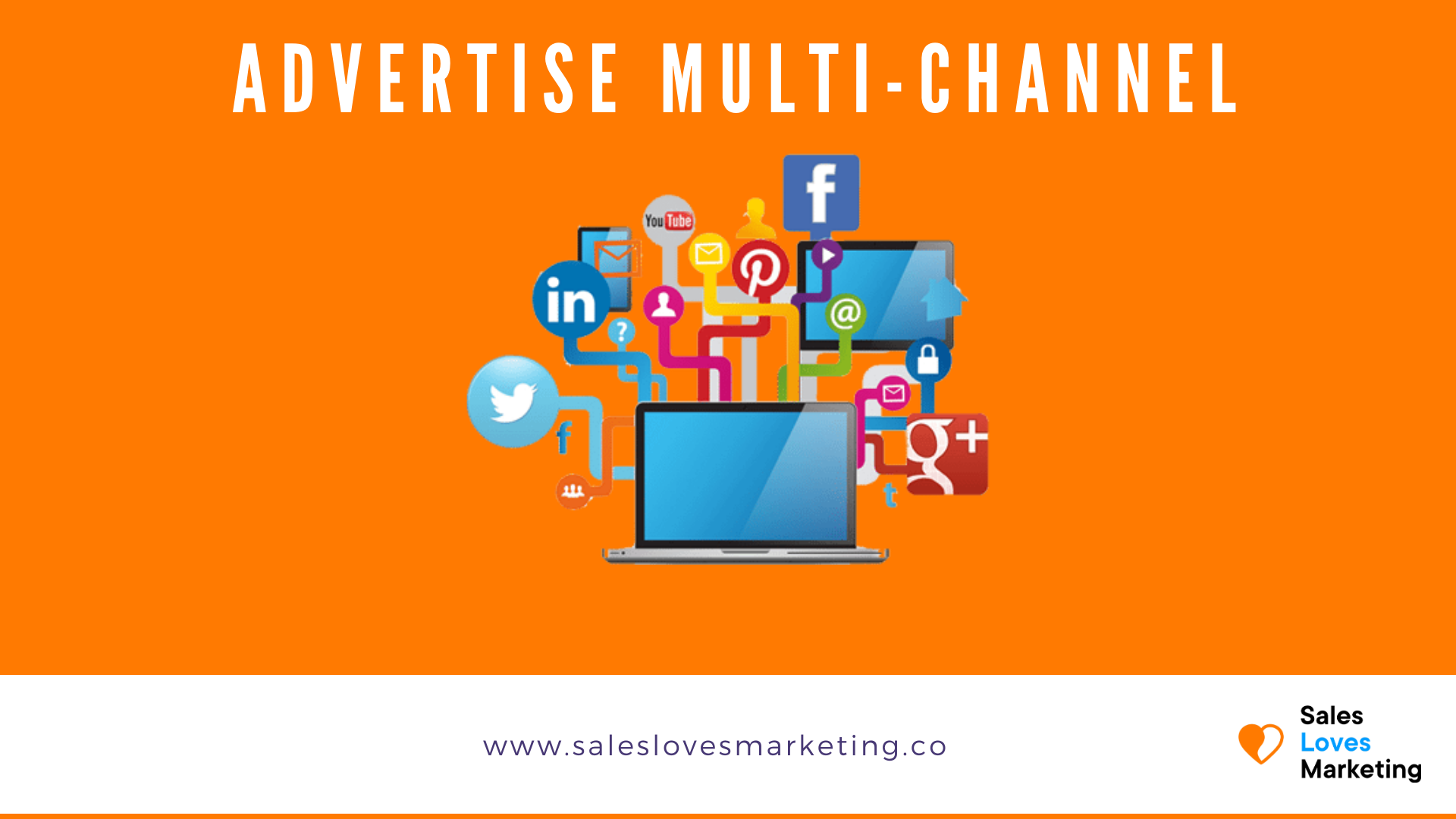 advertise multi channel to generate b2b website traffic