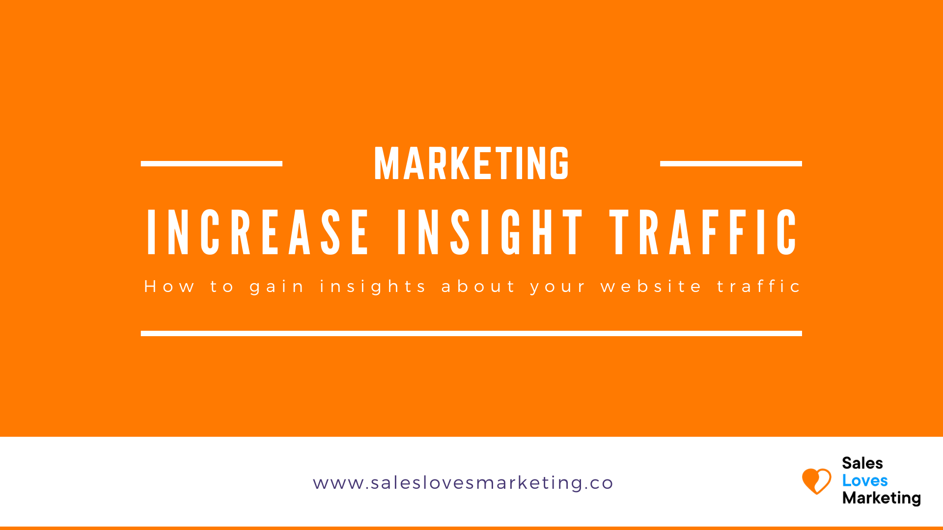 Get more insights in your current website traffic and the website traffic from your competitor with these tools