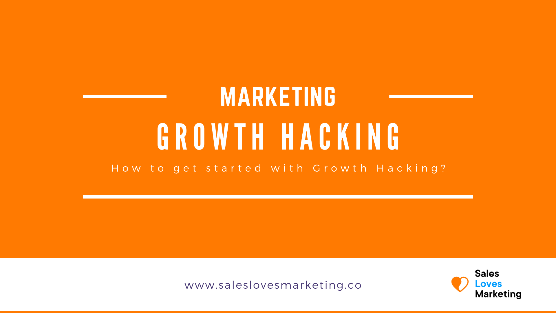Learn how to get started with Growth Hacking