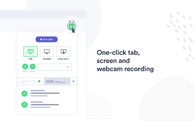 Create screenrecordings easily and free with the chrome extension from vidyard.