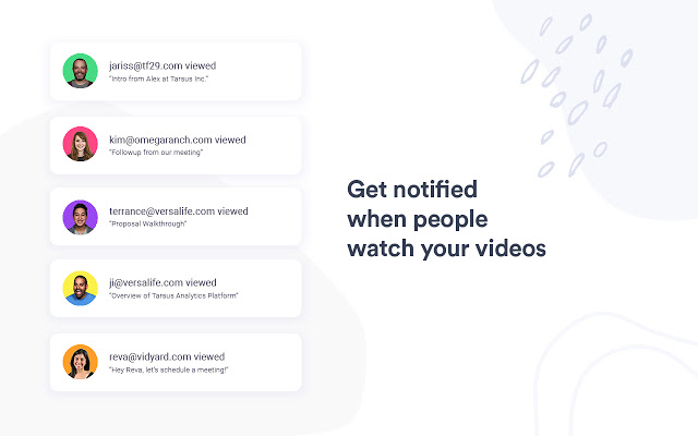 Get notification when people have watched your screen recording