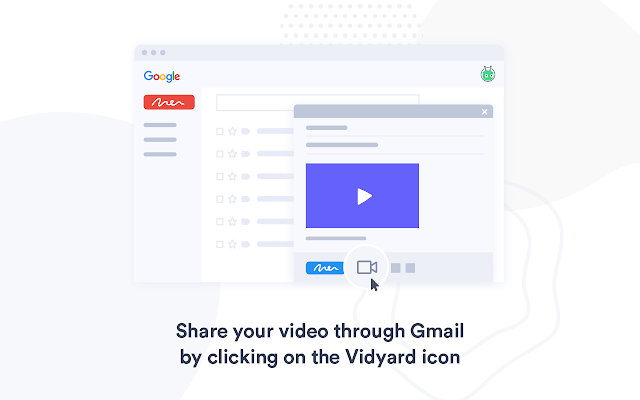 Share your screen recordings easily via gmail