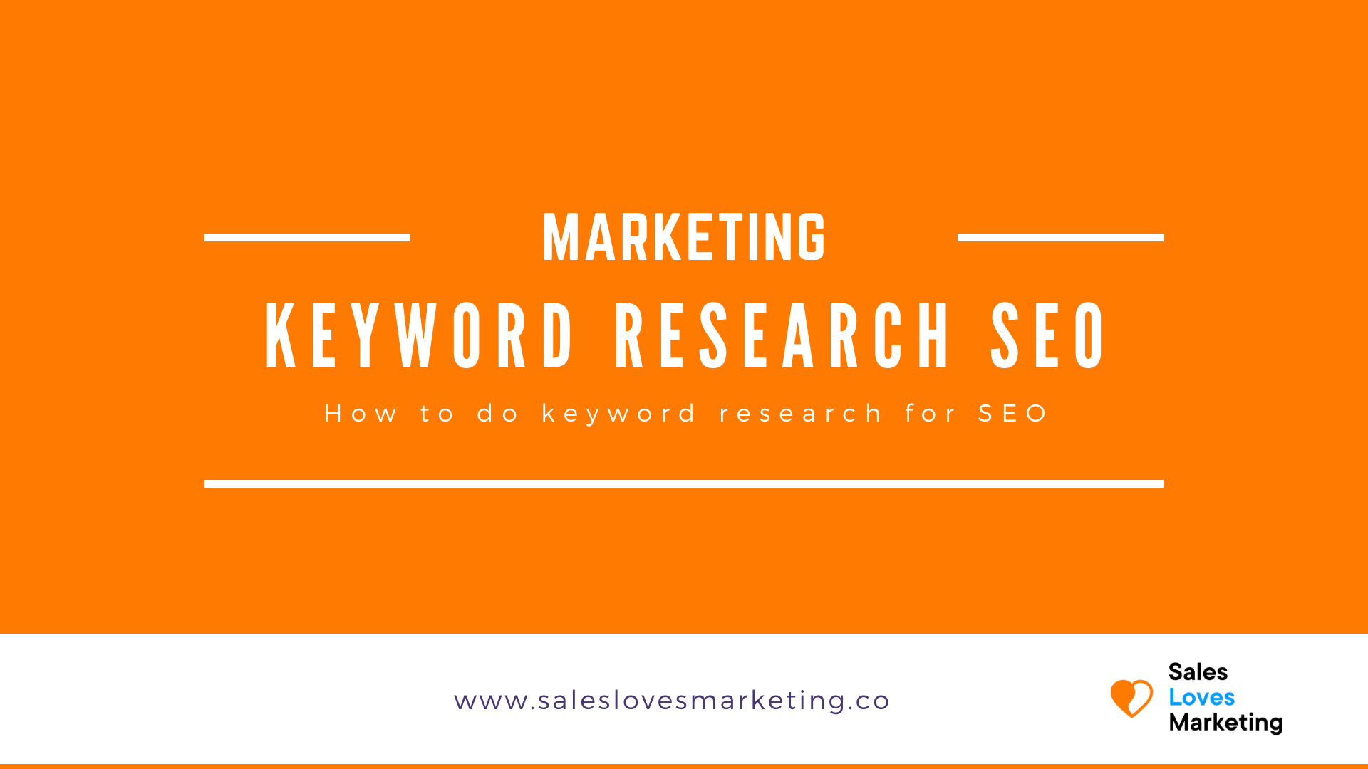 How to do keyword research for SEO and the best SEO tools you should use