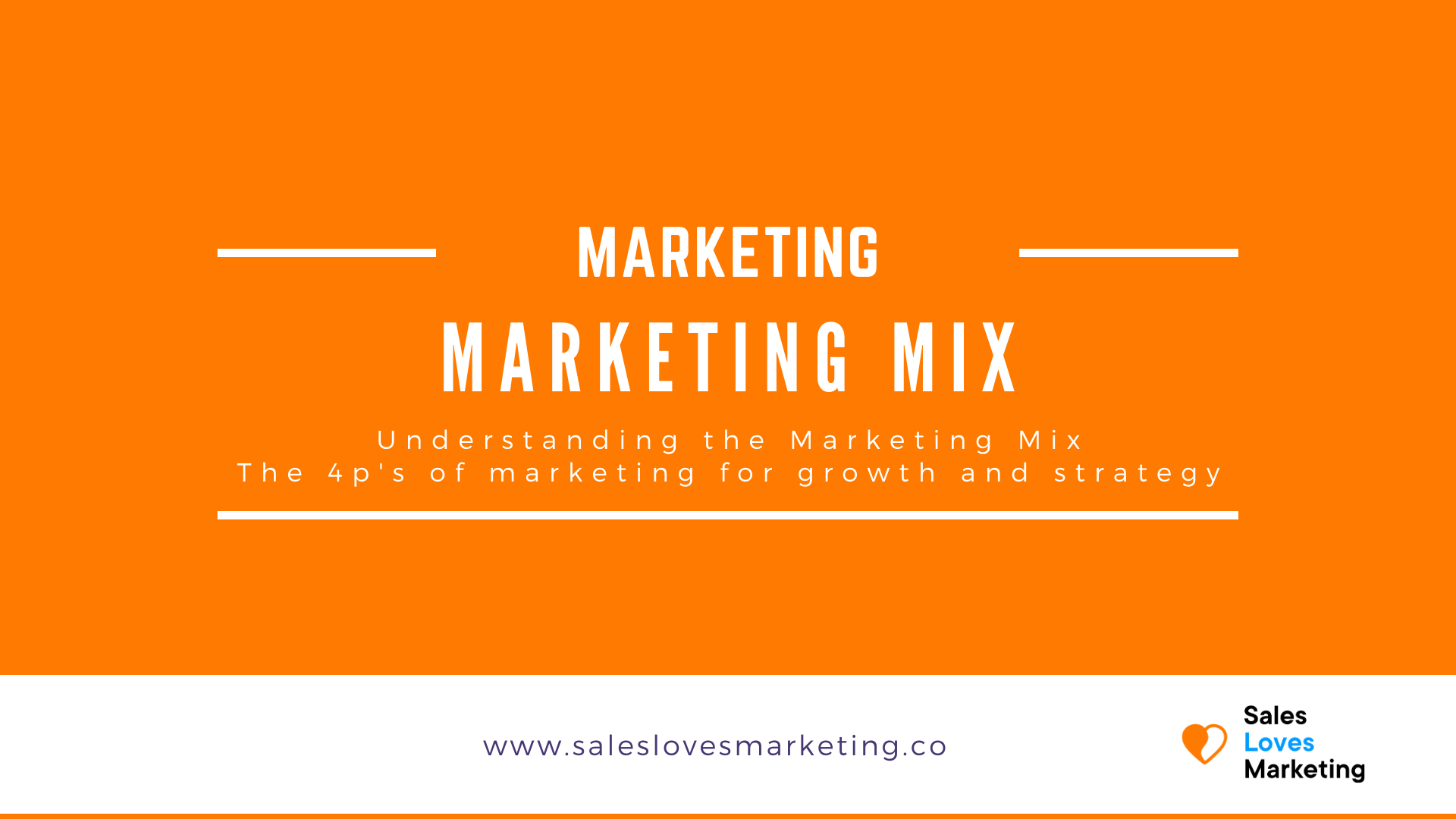 Get more information about the marketing mix, the four p's of marketing and more