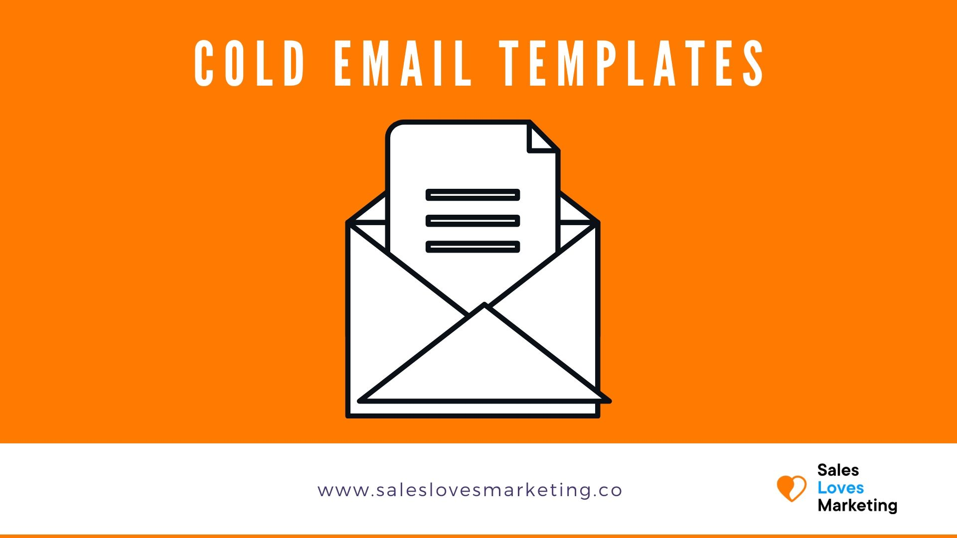 Get ready to go email templates for cold emails.