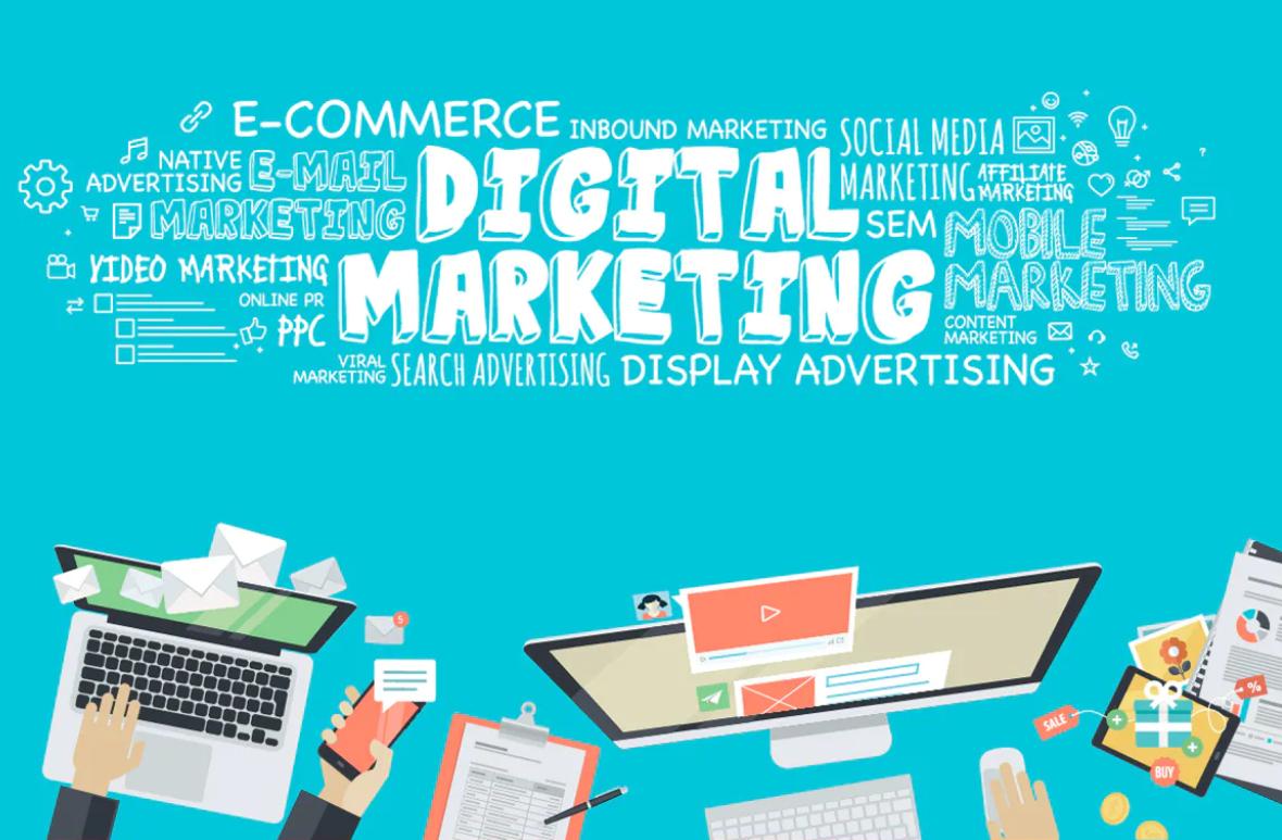 Digital Marketing wordcloud