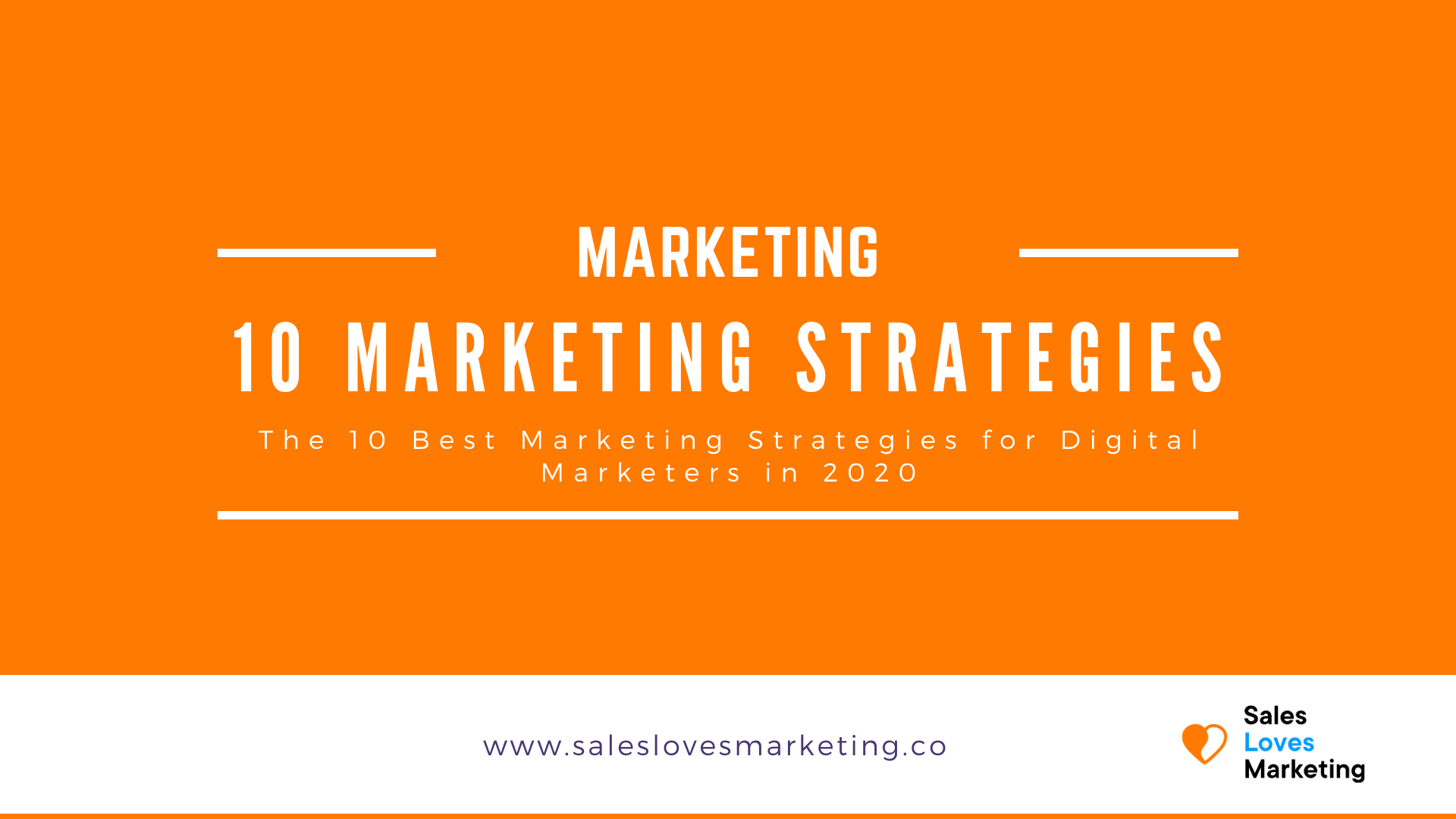 A guide on ten marketing strategies which can help digital marketers to grow their business