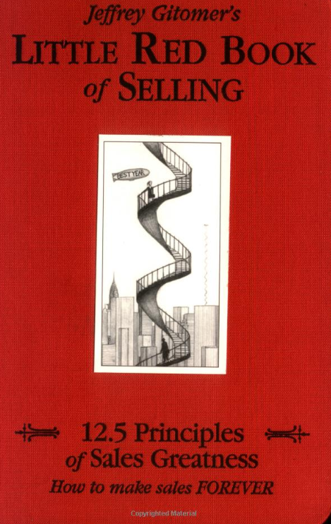 Litte red book of selling cover