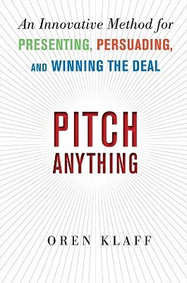 Pitch Anything book cover by Oren Klaff