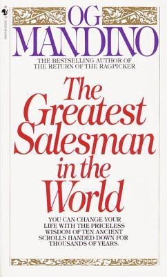 The greatest salesman in the world book cover by OG Mandino