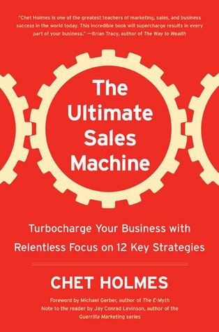The Ultimate Sales Machine book cover by Chet Holmes