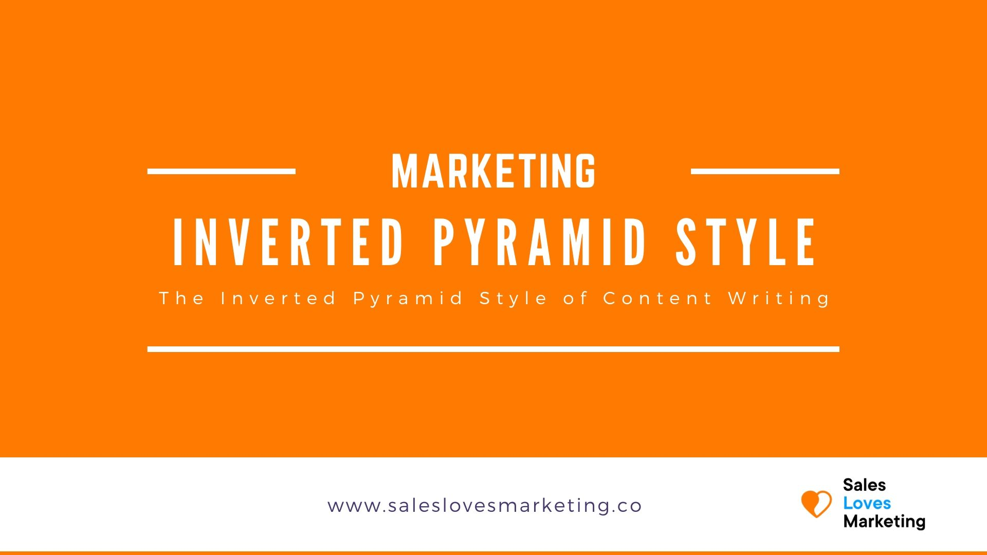 A guide on what the inverted pyramid style of writing is and how you can start using it as well