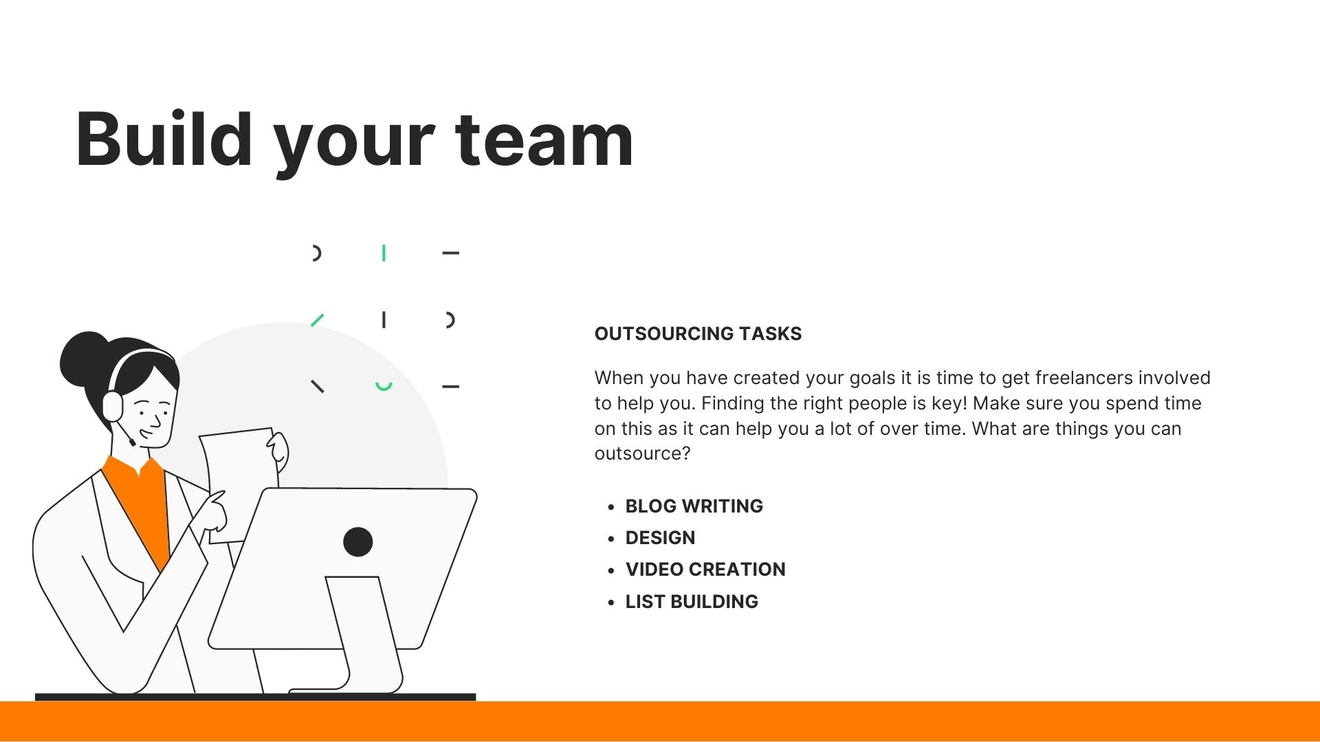building a team of freelancers