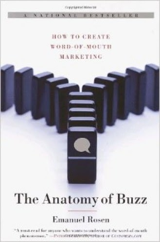 Book Cover from The Anatomy of Buzz, part of the best marketing books list