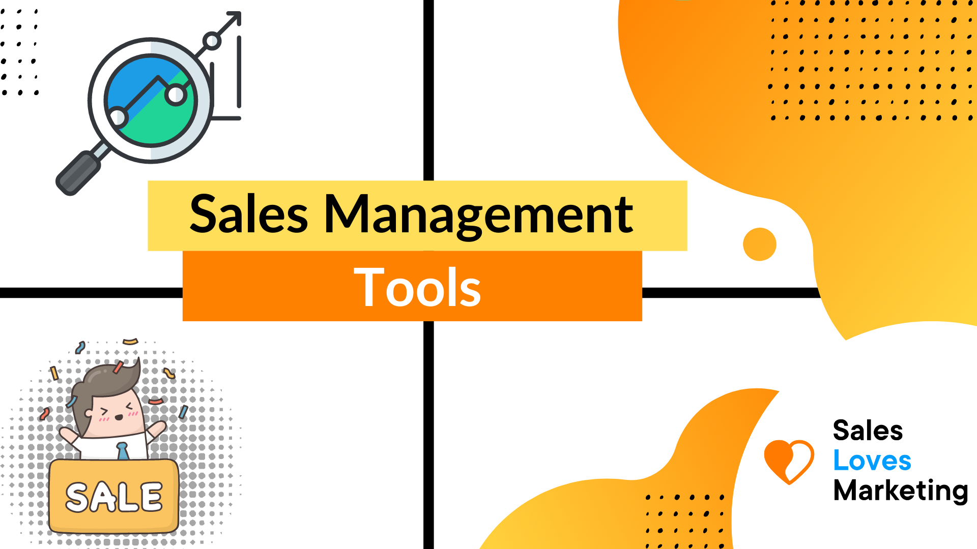 The Best Sales Management tools listed in one blog