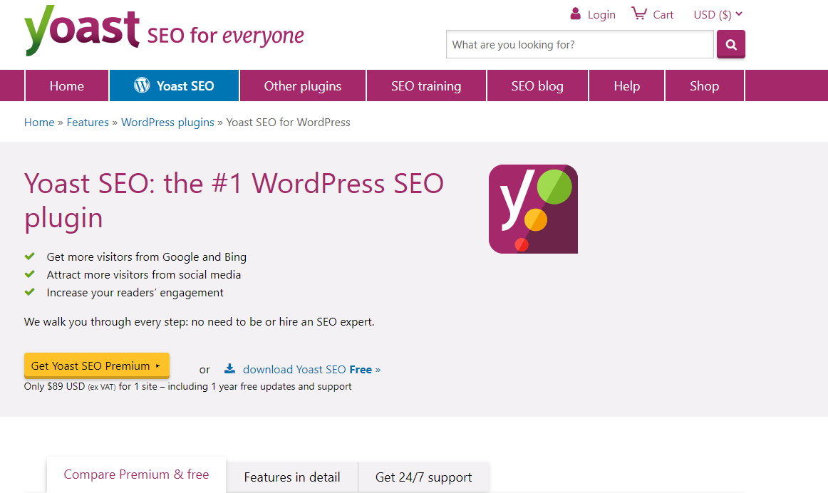 Yoast is a great tool for small businesses who want to get involved with SEO