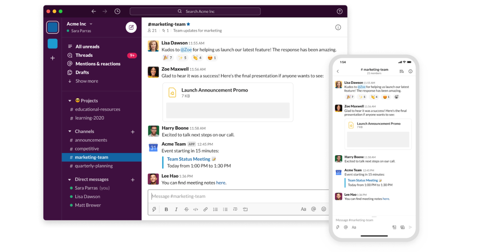 Communicate with your team without email, that is what Slack is all about