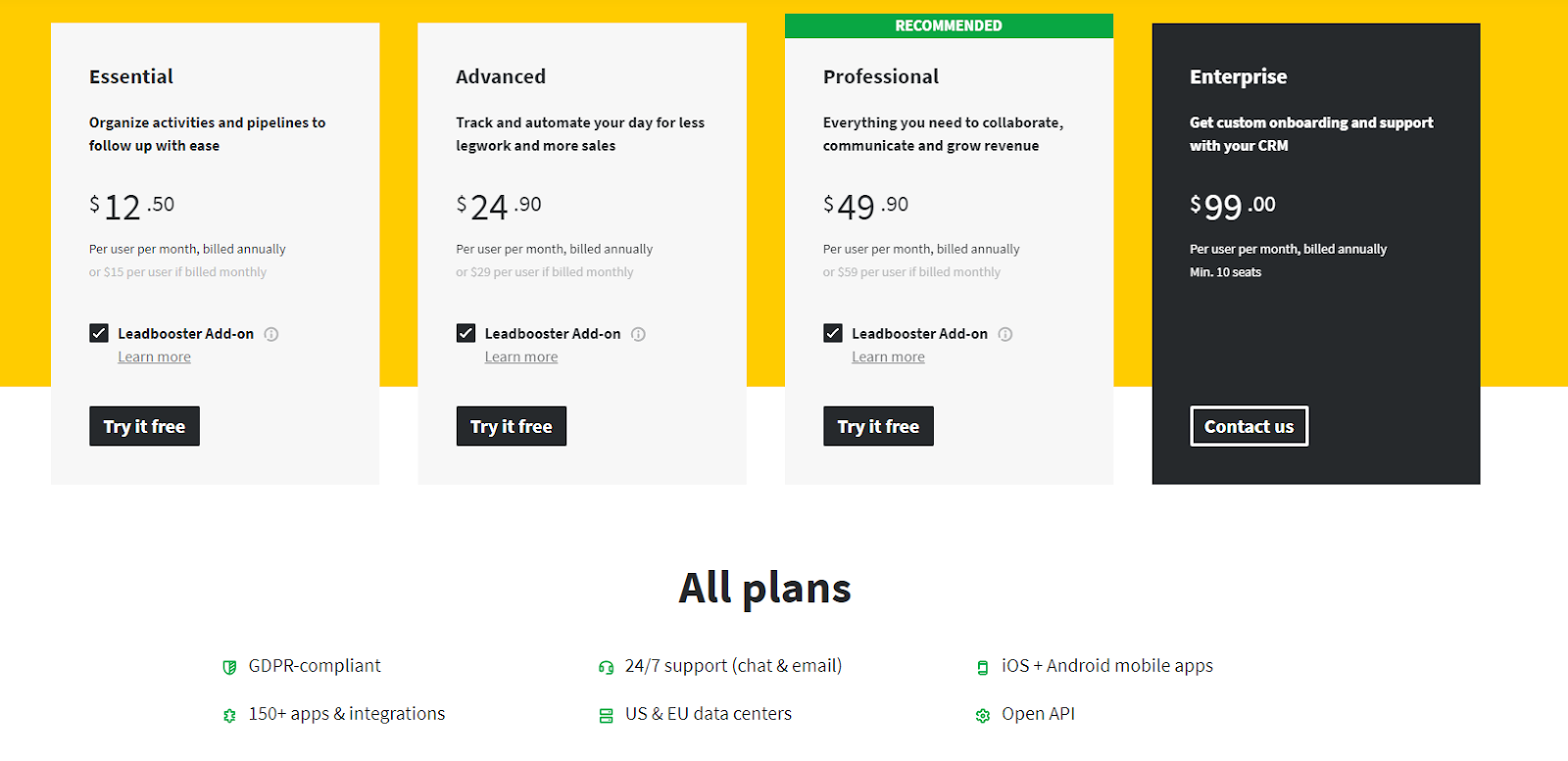Pipedrive is an affordable Startup CRM which will do everything you need