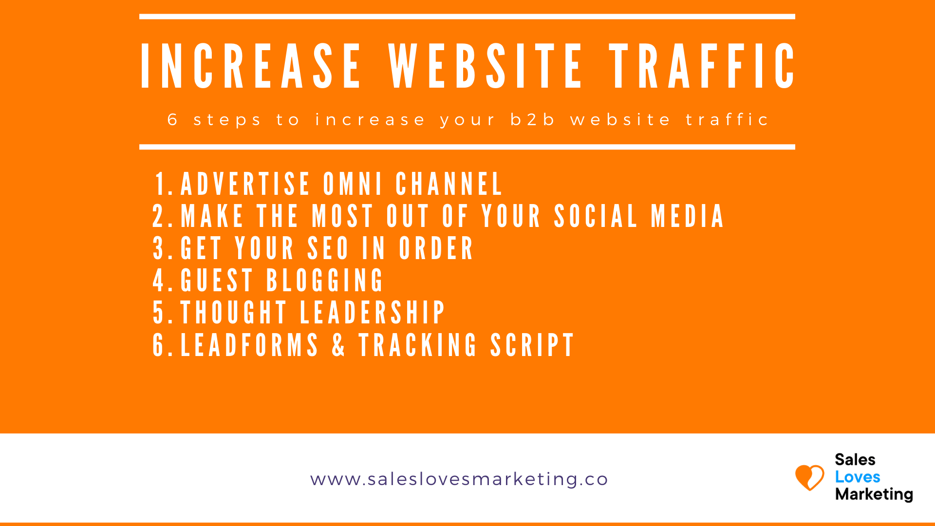 6 ways to increase your website traffic to grow your business
