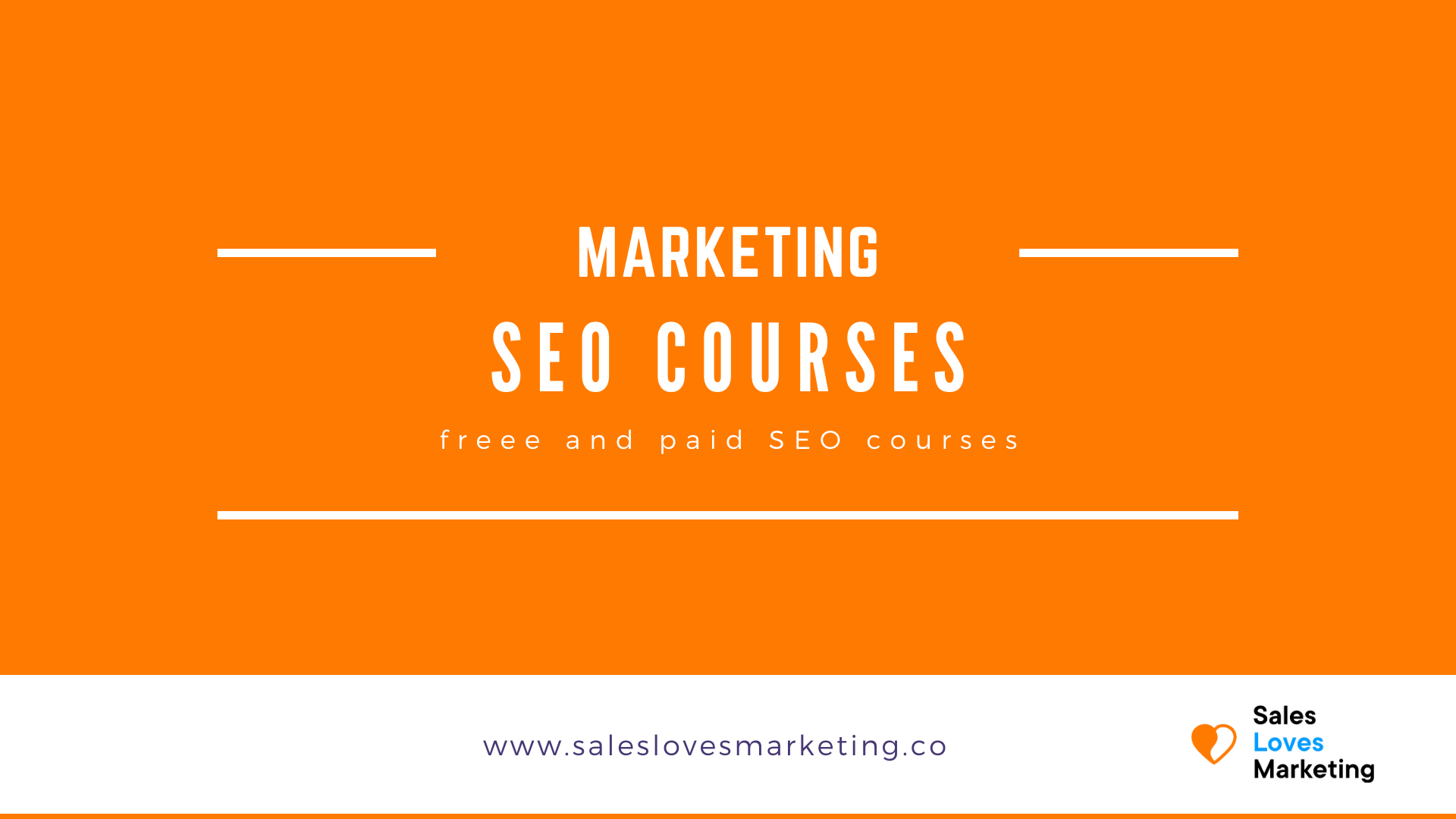 free and paid seo courses to grow your organic website visitors