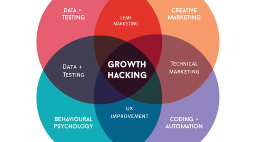 what does the growth hacking model contains