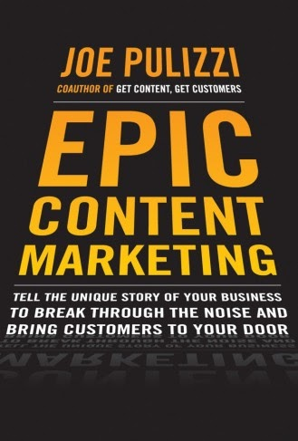 Book cover from Epic Content Marketing, part of the best marketing book lists