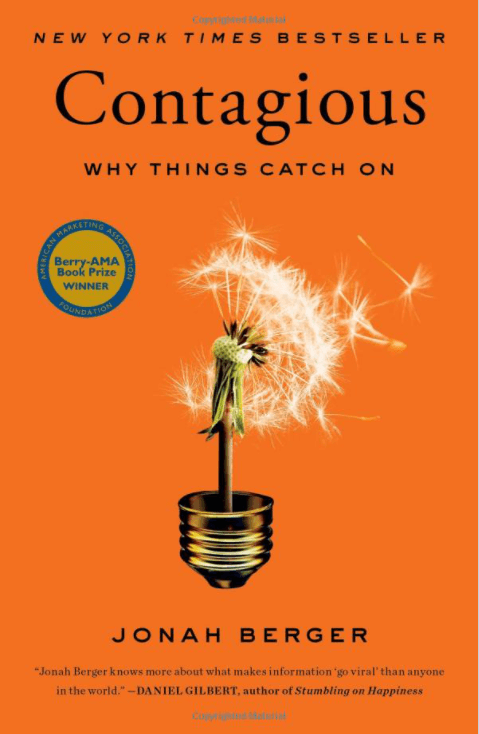 why do things catch on? Learn everything about it in the book; contagious