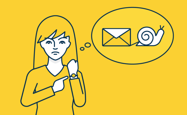 Slow Email delivery speed will impact your business and customers directly